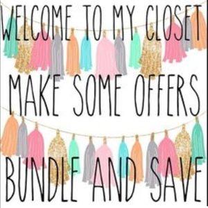 I love reasonable offers! 💕